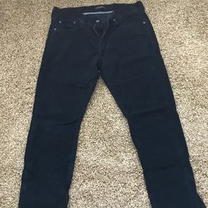 Corduroy banana republic 5-pocket pants